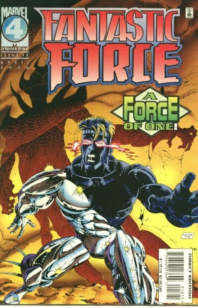 Cover for Fantastic Force (1994 series) #18