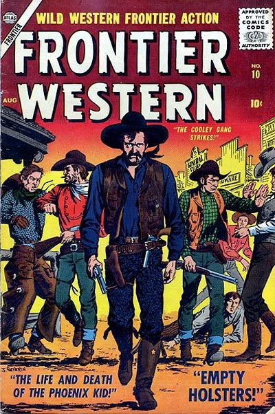 Cover for Frontier Western (1956 series) #10