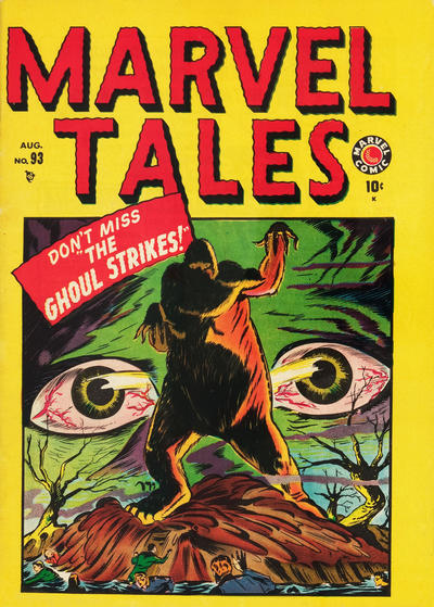 Cover for Marvel Tales (1949 series) #93