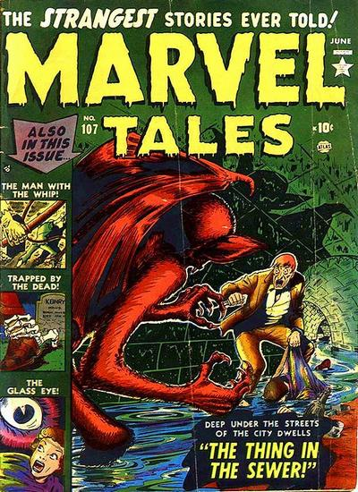 Cover for Marvel Tales (Marvel, 1949 series) #107
