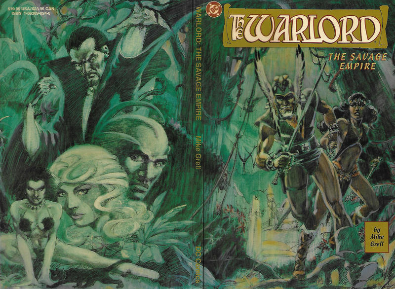 Cover for Warlord: The Savage Empire (DC, 1992 series) #[nn]