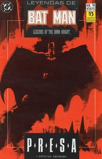 Cover Thumbnail for Batman: Leyendas (Zinco, 1990 series) #11