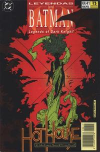 Cover Thumbnail for Batman: Leyendas (Zinco, 1990 series) #41