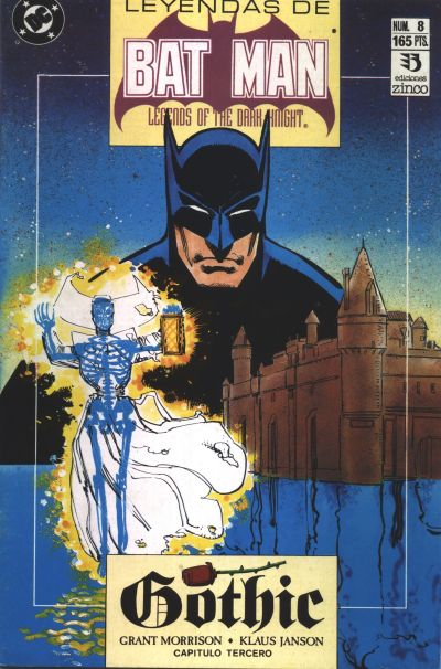 Cover for Batman: Leyendas (Zinco, 1990 series) #8
