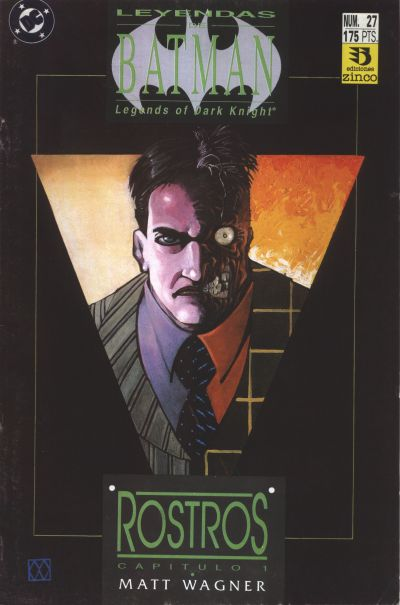 Cover for Batman: Leyendas (Zinco, 1990 series) #27