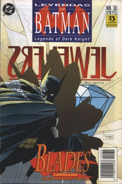 Cover for Batman: Leyendas (1990 series) #32