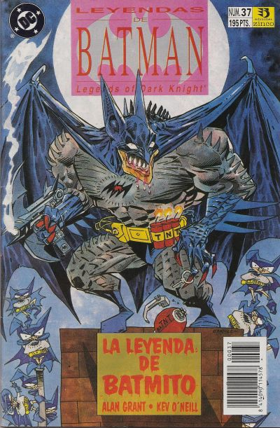 Cover for Batman: Leyendas (Zinco, 1990 series) #37
