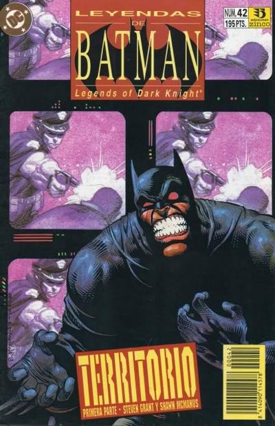 Cover for Batman: Leyendas (Zinco, 1990 series) #42