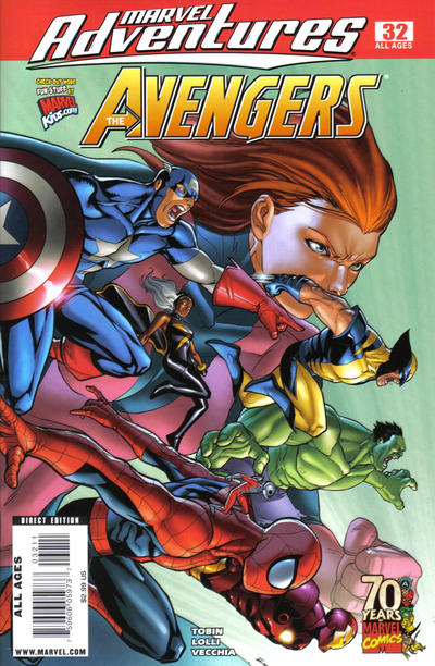 Cover for Marvel Adventures The Avengers (Marvel, 2006 series) #32