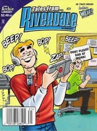 Cover for Tales from Riverdale Digest (Archie, 2005 series) #31 [Direct]
