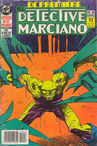 Cover for DC Premiere (Zinco, 1990 series) #18