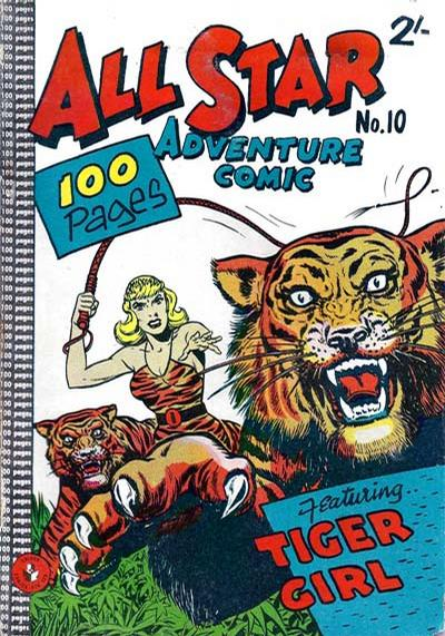 Cover for All Star Adventure Comic (K. G. Murray, 1959 series) #10