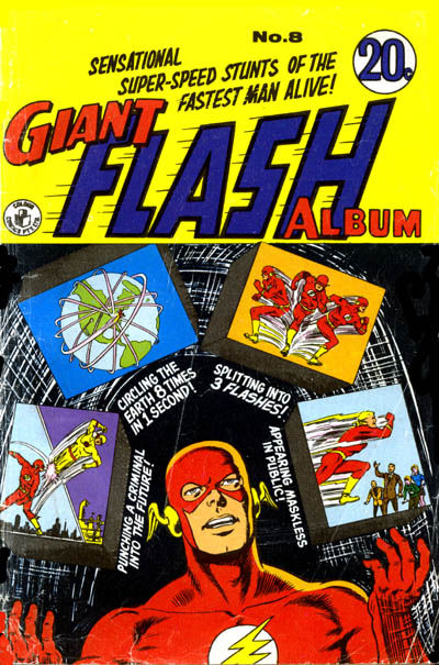 Cover for Giant Flash Album (K. G. Murray, 1965 ? series) #8