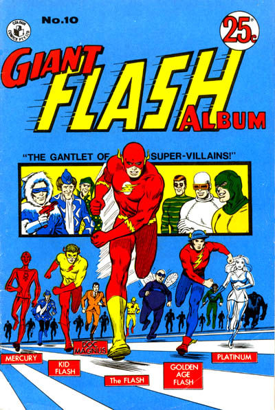 Cover for Giant Flash Album (K. G. Murray, 1965 ? series) #10
