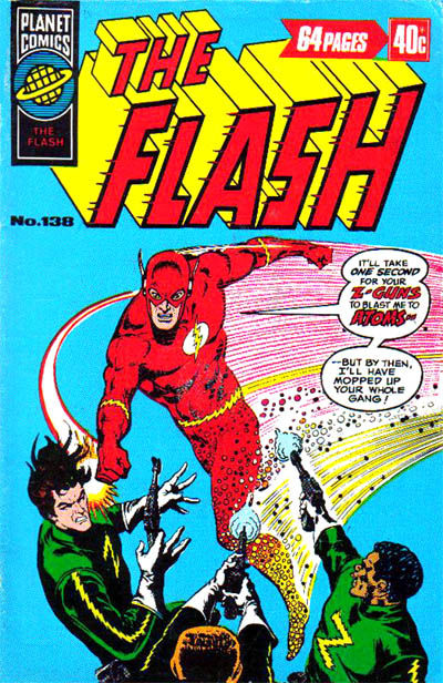 Cover for The Flash (K. G. Murray, 1975 ? series) #138
