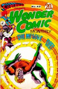 Cover Thumbnail for Superman Presents Wonder Comic Monthly (K. G. Murray, 1965 ? series) #42