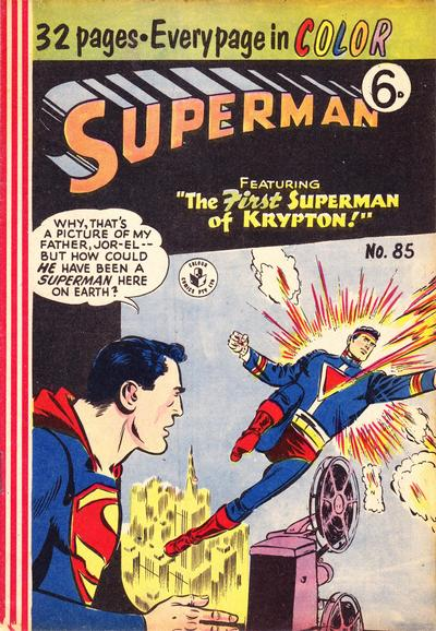Cover for Superman (1947 series) #85