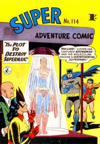 Cover Thumbnail for Super Adventure Comic (K. G. Murray, 1950 series) #114