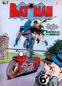 Cover Thumbnail for Batman (K. G. Murray, 1950 series) #7
