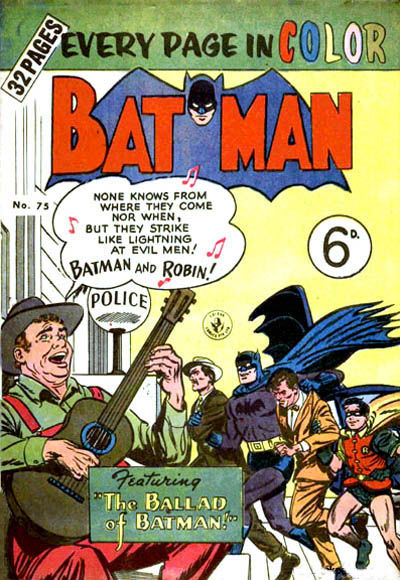 Cover for Batman (K. G. Murray, 1950 series) #75