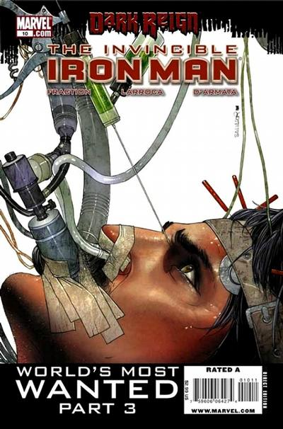 Cover for Invincible Iron Man (2008 series) #10