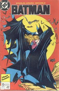 Cover Thumbnail for Batman (Zinco, 1987 series) #22