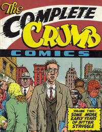 Cover Thumbnail for The Complete Crumb Comics (Fantagraphics, 1987 series) #2 - Some More Years of Bitter Struggle