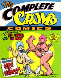 Cover Thumbnail for The Complete Crumb Comics (Fantagraphics, 1987 series) #7 - Hot 'n' Heavy
