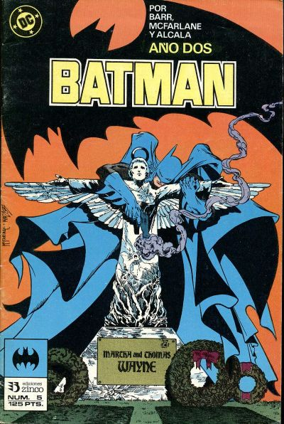 Cover for Batman (Zinco, 1987 series) #5