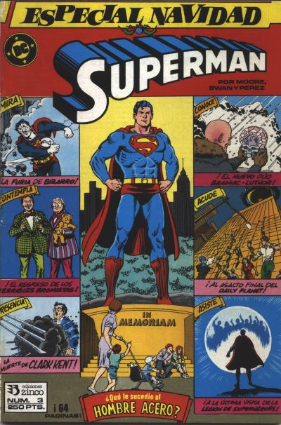 Cover for Especial Superman (Zinco, 1987 series) #3