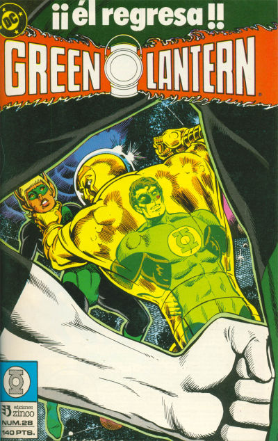 Cover for Green Lantern (1986 series) #28