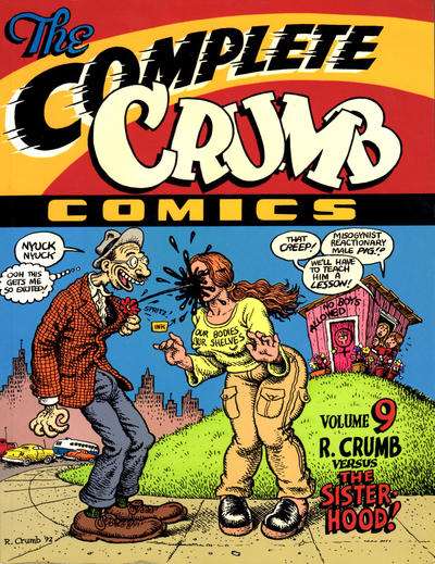 Cover for The Complete Crumb Comics (Fantagraphics, 1987 series) #9 - R. Crumb Versus the Sisterhood