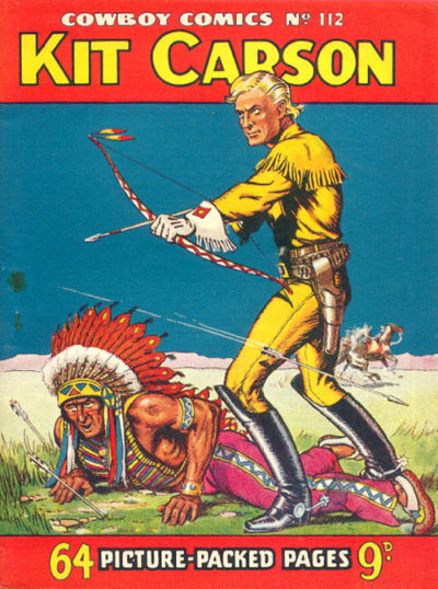 Cover for Cowboy Comics (Amalgamated Press, 1950 series) #112