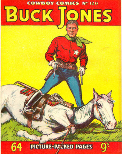 Cover for Cowboy Comics (Amalgamated Press, 1950 series) #120