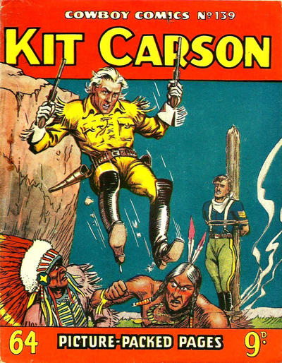 Cover for Cowboy Comics (Amalgamated Press, 1950 series) #139