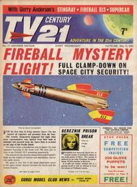 Cover Thumbnail for TV Century 21 (City Magazines; Century 21 Publications, 1965 series) #17