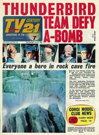 Cover Thumbnail for TV Century 21 (City Magazines; Century 21 Publications, 1965 series) #124
