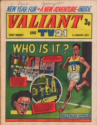 Cover Thumbnail for Valiant and TV21 (IPC, 1971 series) #1st January 1972