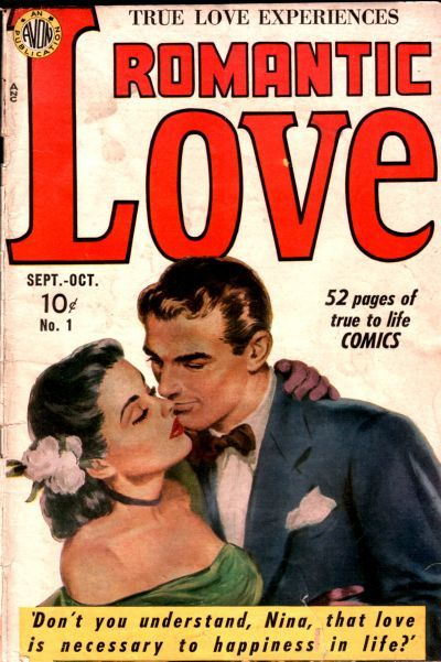 Cover for Romantic Love (Avon, 1949 series) #1
