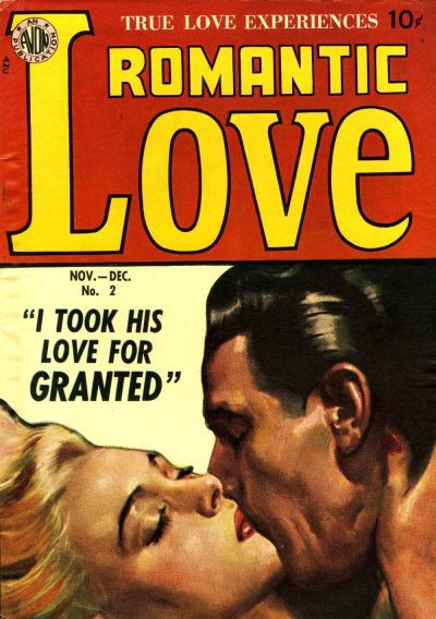Cover for Romantic Love (Avon, 1949 series) #2