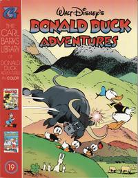 Cover for Carl Barks Library of Walt Disney's Donald Duck Adventures in Color (1994 series) #19