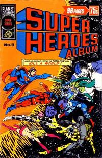Cover Thumbnail for Super Heroes Album (K. G. Murray, 1976 series) #9