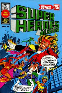 Cover Thumbnail for Super Heroes Album (K. G. Murray, 1976 series) #11