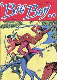 Cover for Big Boy (Arédit-Artima, 1956 series) #11