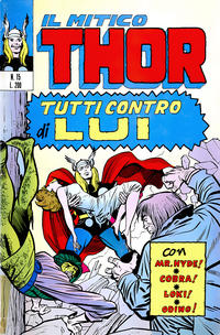 Cover Thumbnail for Il Mitico Thor (Editoriale Corno, 1971 series) #15
