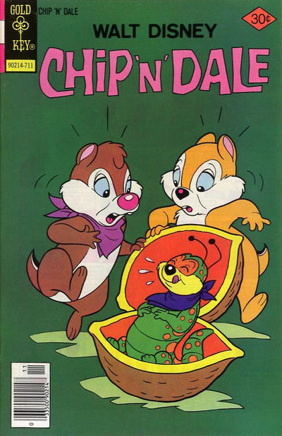 Cover for Walt Disney Chip 'n' Dale (Western, 1967 series) #49 [Gold Key]