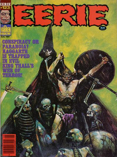 Cover for Eerie (Warren, 1966 series) #123