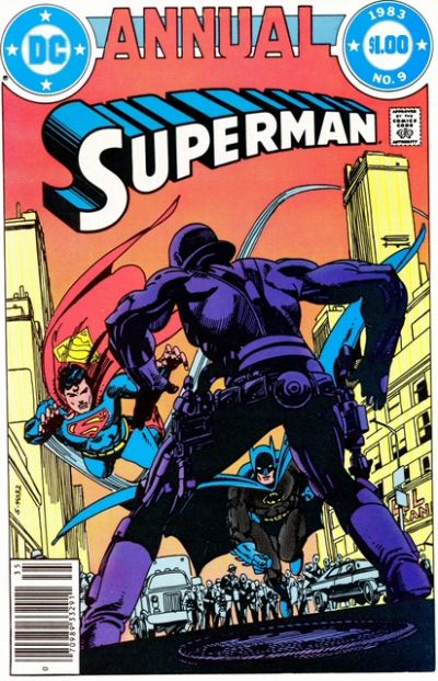 Cover for Superman Annual (DC, 1960 series) #9 [Newsstand Edition]