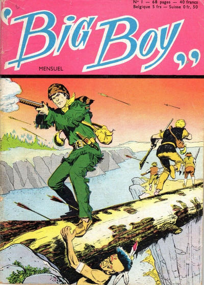 Cover for Big Boy (Arédit-Artima, 1956 series) #1