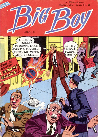 Cover for Big Boy (Arédit-Artima, 1956 series) #19